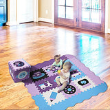 "Kids Play Mat Baby Non-Toxic 9/16"" Thick Foam Mat"