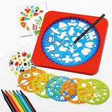 Arshiner Drawing Stencils Kit Creativity Activity Art Set Educational Toy