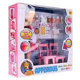 Arshiner DollHouse Kitchen Accessories Set Pretend Play Drinks and Foods