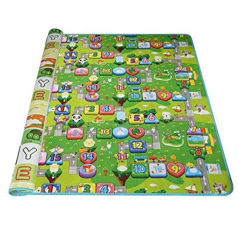 Arshiner Baby Kid Toddler Play Crawl Mat Carpet Playmat Foam Blanket Rug