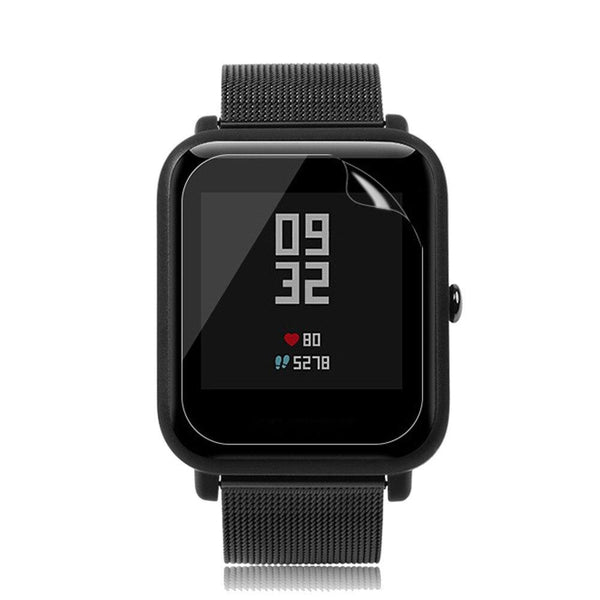 Smart Watch Accessories Transparent Waterproof Transparent Screen Protector Film For Xiaomi Amazfit Bip Youth