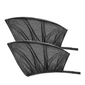 SlipOn Shade: Car Window Sun Shades (2 Pack)