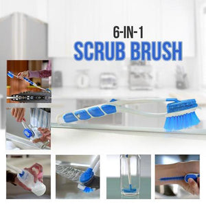 6-In-1 Scrub Brush