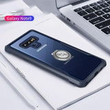 For Samsung Note 9 with Ring Holder Silicon  Phone  case