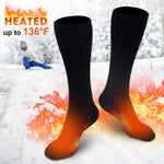 (Christmas promotion-ONLY$19.99!!!)Warming Heated Aluminized Insulation Fibers Heat Socks
