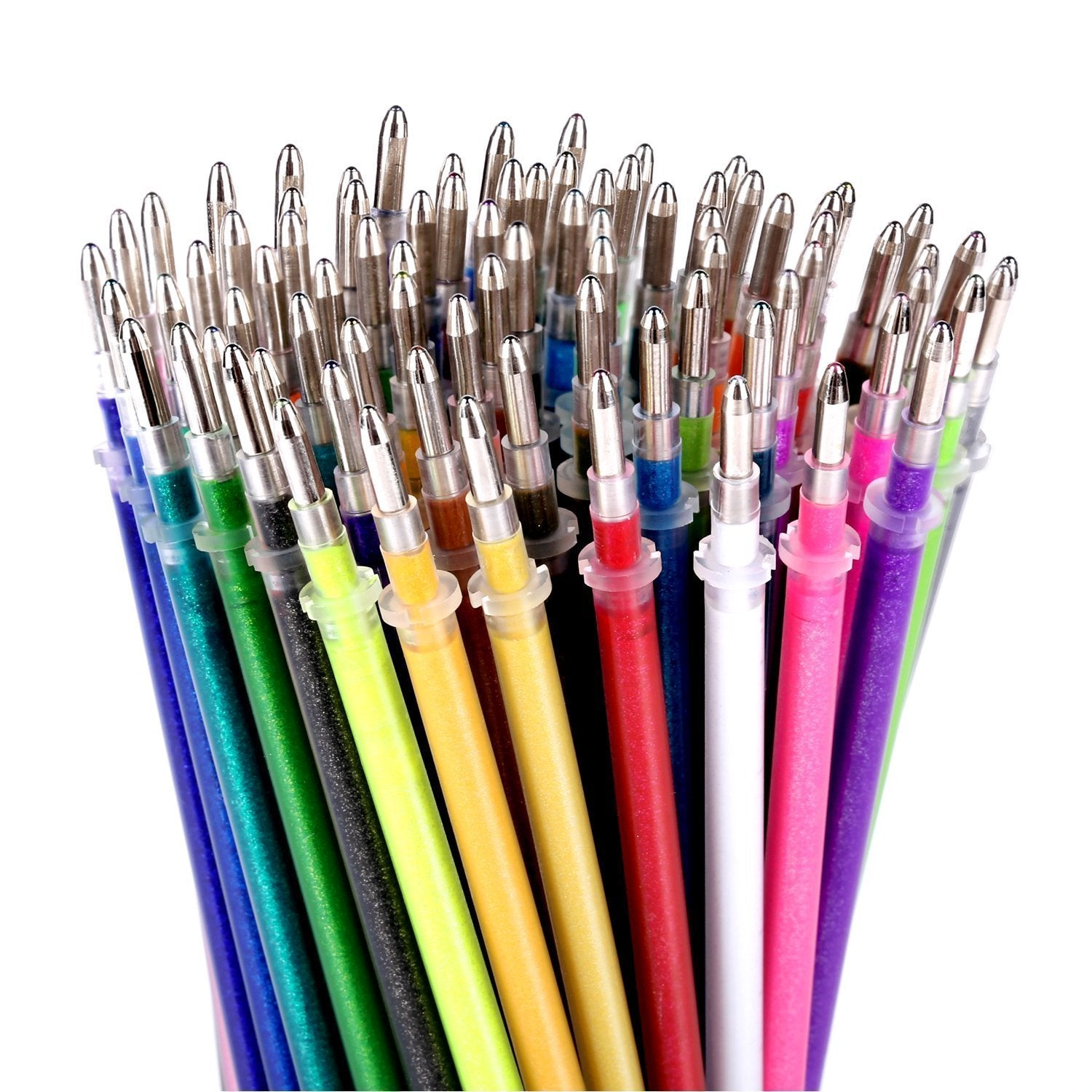 100 Colors Gel Pen Refills