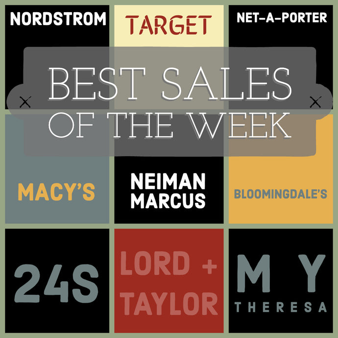 Best of the Week Fashion Sales