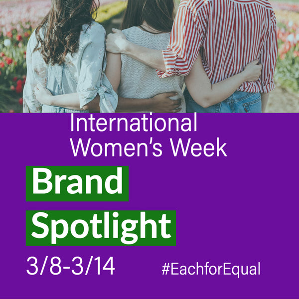 International Women's Week Brand Spotlight