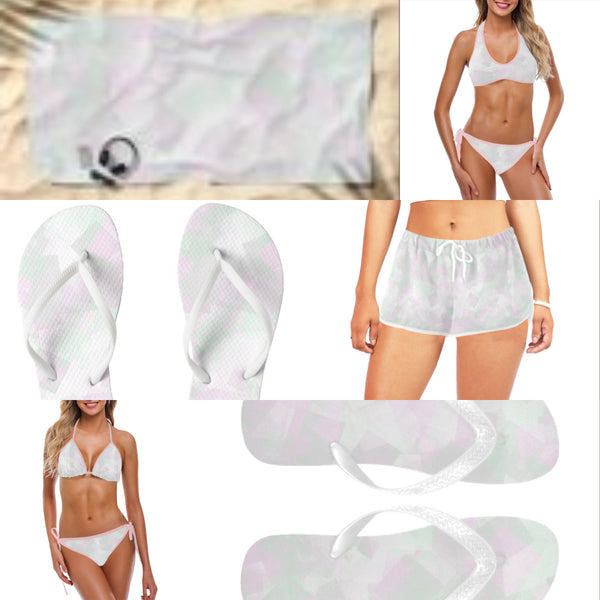 Clear Amour Snuff Mint Swimwear
