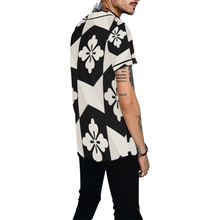 Load image into Gallery viewer, Black White Tiles All Over Print Baseball Jersey for Men (Model T50)