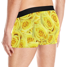 Load image into Gallery viewer, Candlelight Roses Men's All Over Print Boxer Briefs (Model L10)