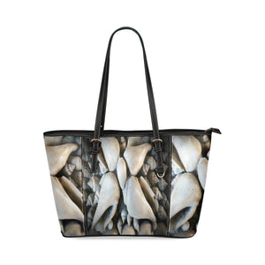 Vignette Sea Shells Leather Tote Bag/Small (Model 1640)