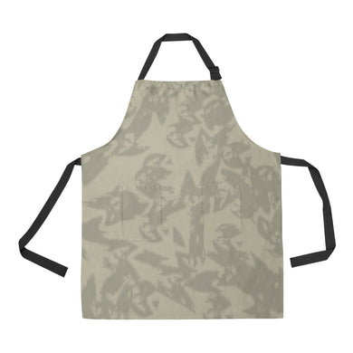 Eagle Taupe Gray All Over Print Apron