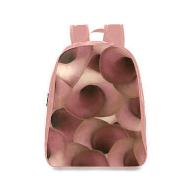 Apple Blossom Petals School Backpack/Large (Model 1601)