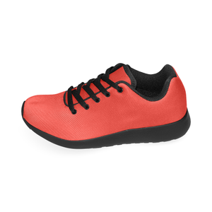 Pomegranate Solid Women's Running Shoes (Model 020)