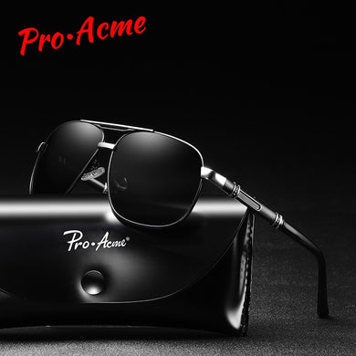 Men Pro-Acme Polarized Designer Alloy Driving Sports Sunglasses