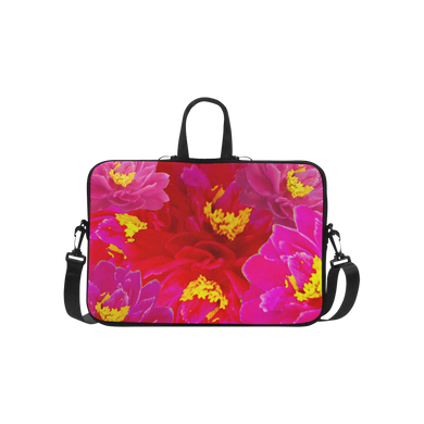 Sweet Vigorosa Flowers Laptop Handbags 15