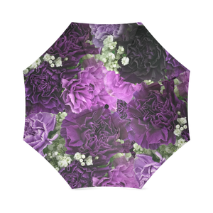Little Purple Carnations Foldable Umbrella