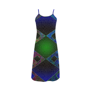 Bluish Elements Alcestis Slip Dress (Model D05)