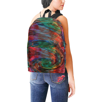 Ray of Twirls Unisex Classic Backpack (Model 1673)