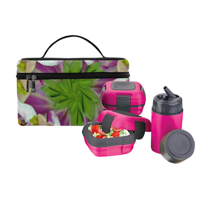 Digitalis Purpurea Flora Lunch Bag/Large (Model 1658)