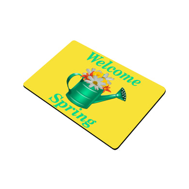 Floral Watering Can Doormat 24
