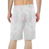 Clear Amour Snuff Mint Men's All Over Print Board Shorts (Model L16)