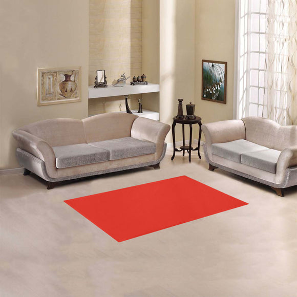 Pomegranate Solid Area Rug 2'7