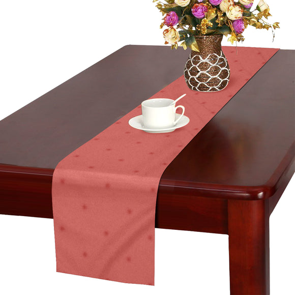 Sunset Dots Table Runner 14x72 inch