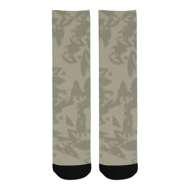 Eagle Taupe Gray Trouser Socks (For Men)