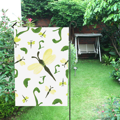 Olivine Dell Dragonflies Garden Flag 12''x18''(Without Flagpole)