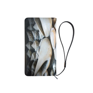 Vignette Sea Shells Men's Clutch Purse (Model 1638)