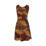 Cinnamon Potpourri Atalanta Sundress (Model D04)
