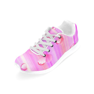 Falling Hearts Women's Running Shoes (Model 020)