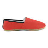 Pomegranate Solid Women's Casual Shoes (Model 004)