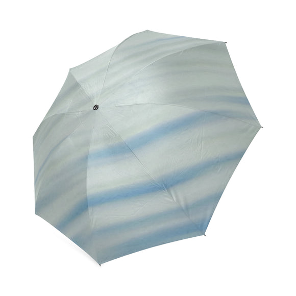 Blue Water Foldable Umbrella