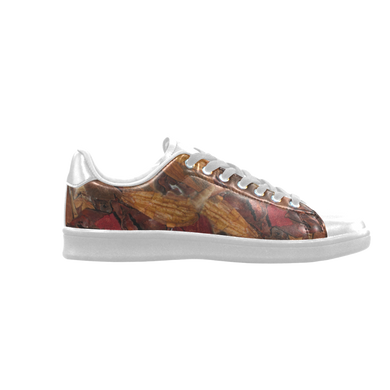 Cinnamon Potpourri Scorpius Low Top Men's Sneakers (Model 023)