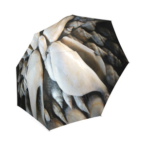 Vignette Sea Shells Foldable Umbrella