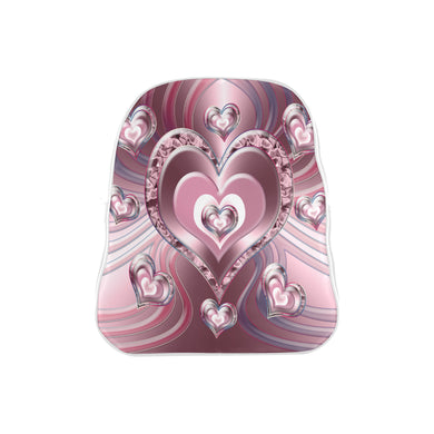 River Flowing Hearts School Backpack (Model 1601)(Small)