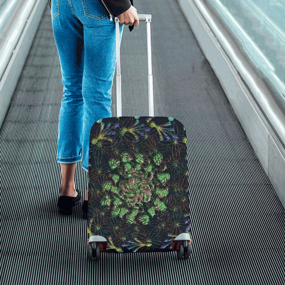Black Russian Luggage Cover/Small 24'' x 20''