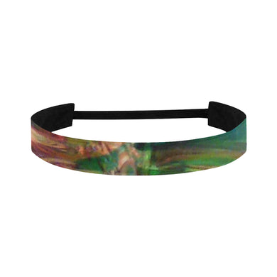 Abstract Colorful Glass Sports Headband