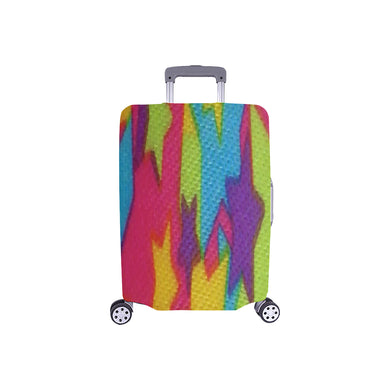 Rainbow Abstract Stars Luggage Cover/Small 24'' x 20''
