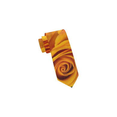 Grenadier Tangerine Roses Classic Necktie (Two Sides)