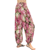 Your Pink Roses Women's All Over Print Harem Pants (Model L18)