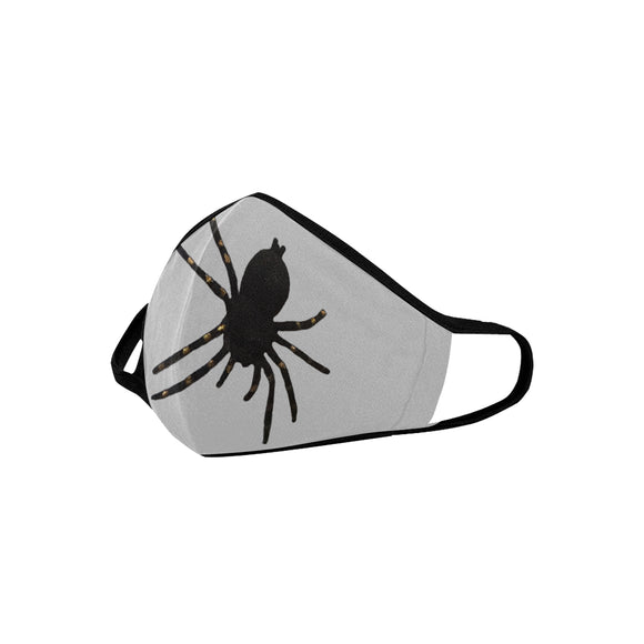 Black Spider Mouth Mask