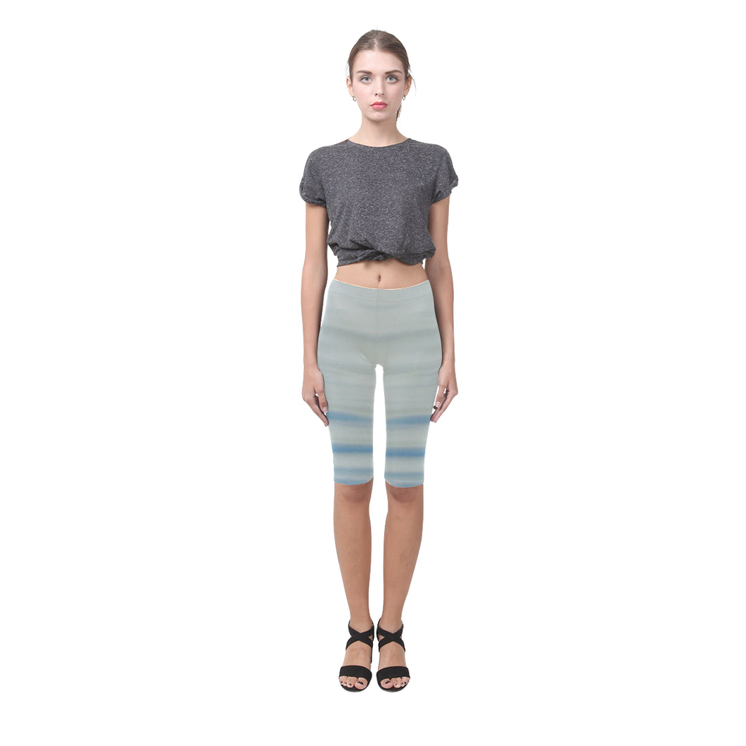 Blue Water Hestia Cropped Leggings (Model L03)