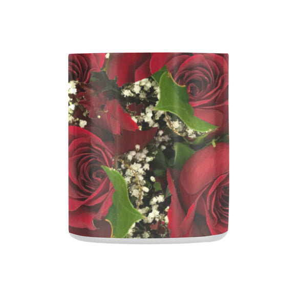Carmine Roses Classic Insulated Mug(10.3OZ)