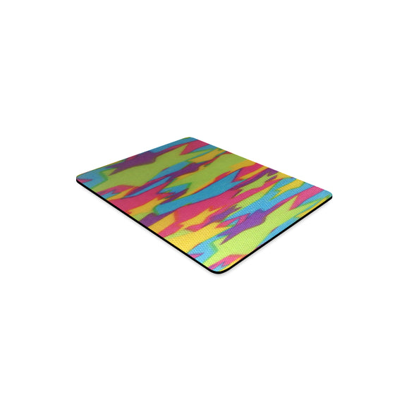 Rainbow Abstract Stars Rectangle Mousepad