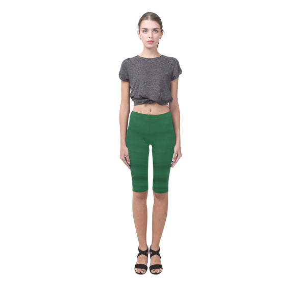 Green Water Hestia Cropped Leggings (Model L03)