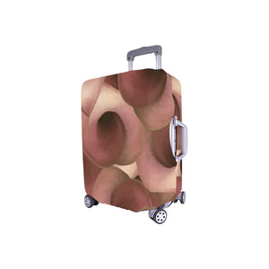 Apple Blossom Petals Luggage Cover/Small 24'' x 20''